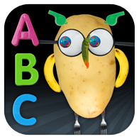 Faces iMake - ABC - where kids can learn their ABC's while playing and making stuff